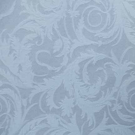Tablecloth, Acanthus Damask - White
