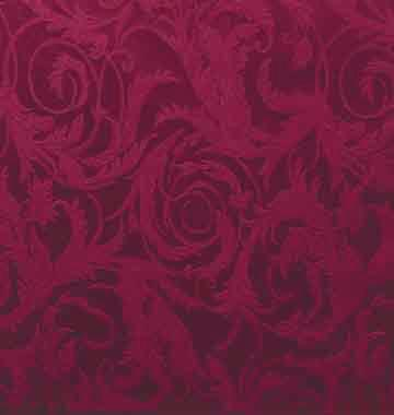 Tablecloth, Acanthus Damask - Wine