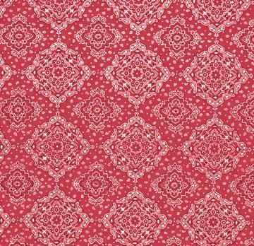 Tablecloth, Bandana - Red