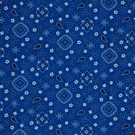 Tablecloth, Bandana - Blue