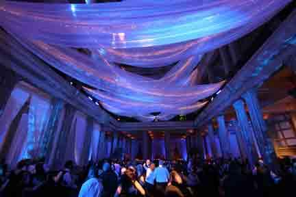 Draping Ceiling Decor Rental For Your Party Wedding Or