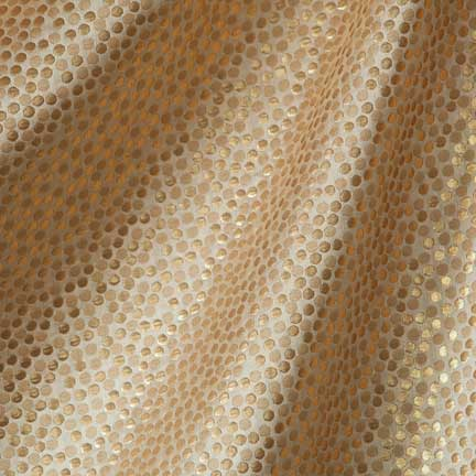 Great Tablecloth, Champagne Bubbles   Gold