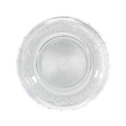 Charger Plate, Crystal