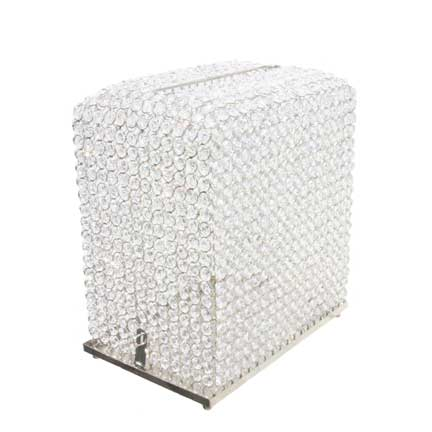 Crystal Pave Card Box