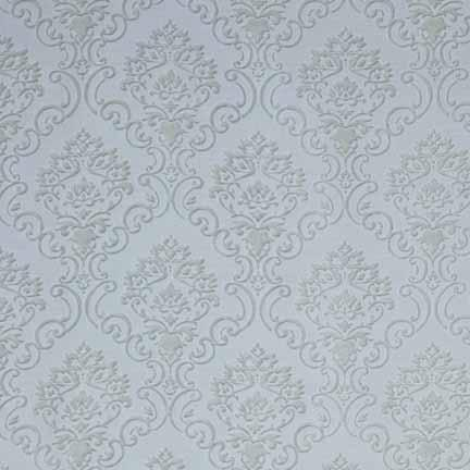 Tablecloth, Damask Sheer - White