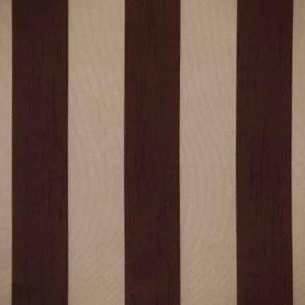 Tablecloth, Eternity Stripe Sheer - Chocolate
