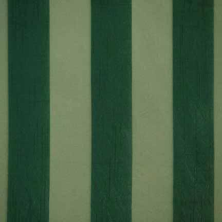 Tablecloth, Eternity Stripe Sheer - Hunter Green