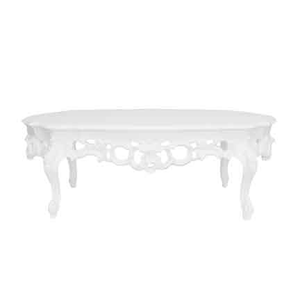 Furnishings White Coffee Table