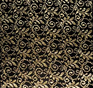 Tablecloth, Black U0026 Gold Lace