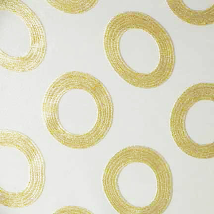 Tablecloth, Gold Rings Sheer