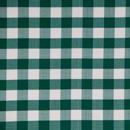 Tablecloth, Green Gingham