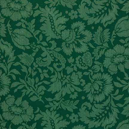 Delightful Napkin, Hunter Green Damask