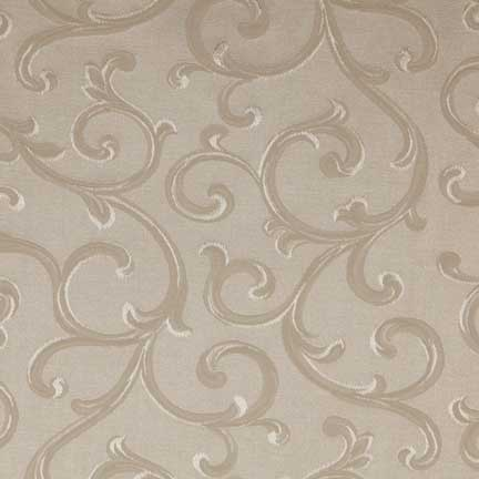 Tablecloth, Ivory Scroll Damask