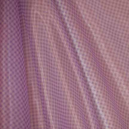Tablecloth, Lilac Check Sheer