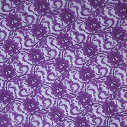 Tablecloth, Purple Lace