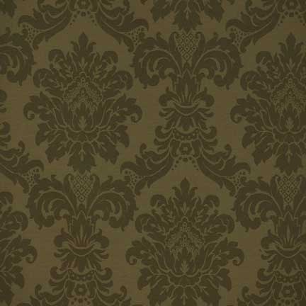 Napkin, Damask Olive Green