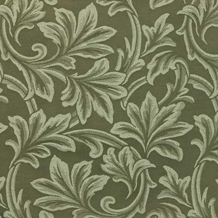 Napkin, Sage Green Damask