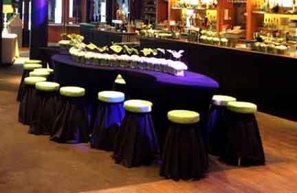Stretch Serpentine Tableform Rental For Your Party