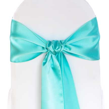 Sash Tiffany Blue  sc 1 st  Linen Effects & Tiffany Blue Sash rental for your wedding party or event from ...