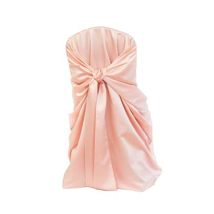 Chair Cover, Tiffany Blush Bag Style