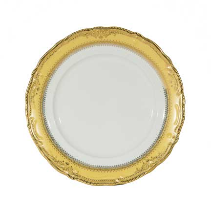 Charger Plate, Vanessa Gold