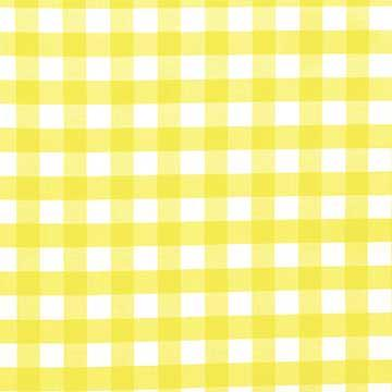 Captivating Tablecloth, Yellow And White Check