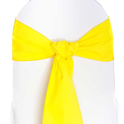 Sash, Yellow Cotton