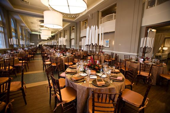 Calhoun Beach Club Grooms Dinner Minneapolis, MN wedding party rental 1