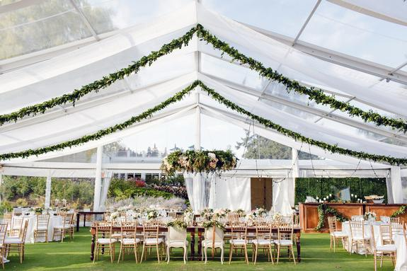 Stunning Summer Tent Wedding | Linen Effects Wedding, Party, and Event Rentals. Minneapolis, MN www.lineneffeccts.com | Photo by Sewell Photography